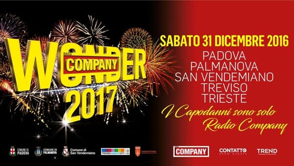 Capodanno 2017 in Prato della Valle