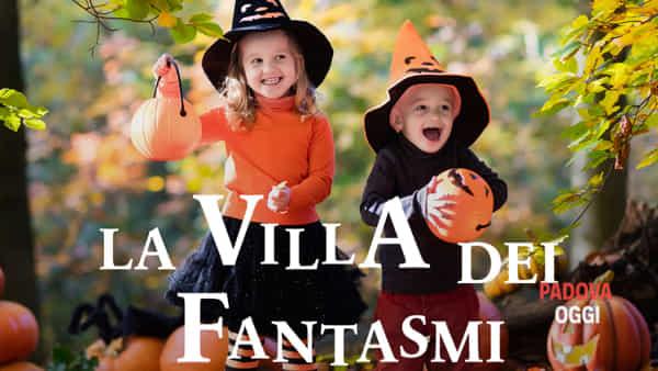 """Tour guidato e animazione per famiglie nella """"villa dei fantasmi"""" per Halloween"""