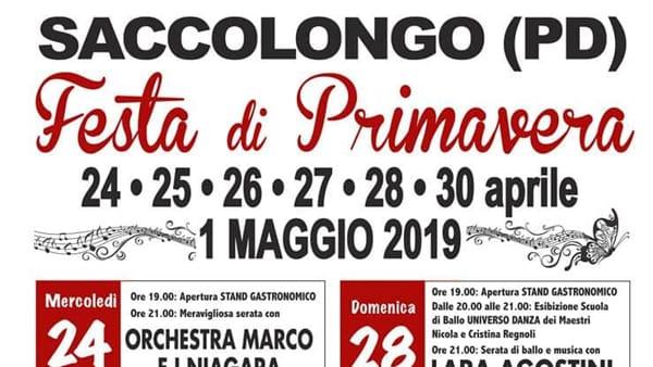 Festa di primavera 2019 a Saccolongo