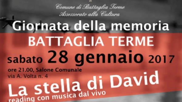 """""""La Stella di David"""", reading con musica dal vivo a Battaglia Terme"""