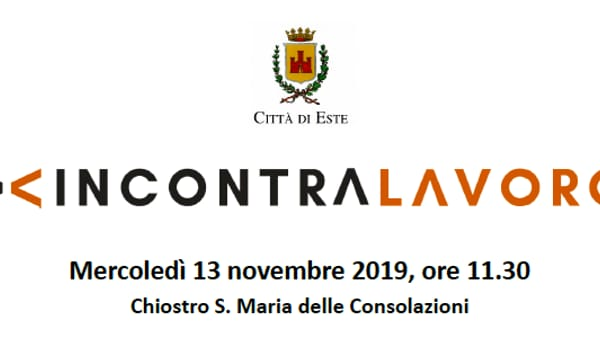 """""""Recruiting day"""", incontro di approfondimento in collaborazione con Veneto lavoro ad Este"""