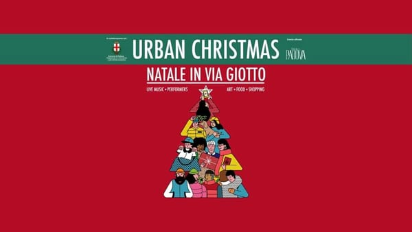 Urban Christmas: il Natale in via Giotto con live music, performers, art, food e shopping