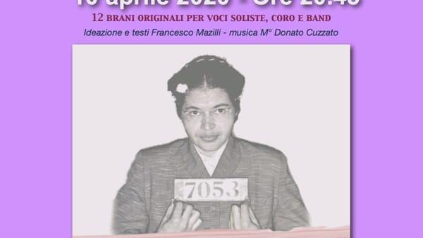 """Concerto-spettacolo """"Rosa"""": al Pollini l'omaggio a Rosa Parks"""