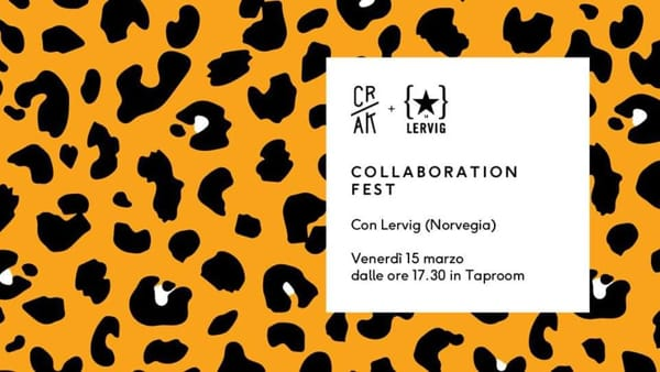 Collaboration Fest / CRAK + LERVIG / Party Animals