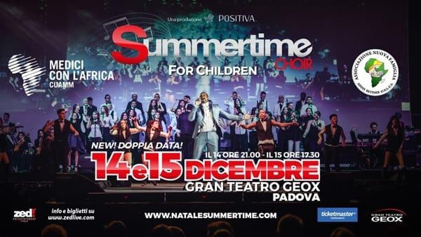 "Concerto ""Summertime 4 Children"" al Gran teatro Geox"