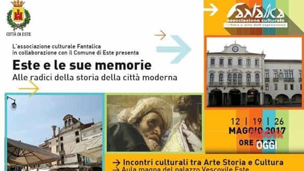 """""""Este e le sue memorie"""", terza conferenza storico-artistica all'ex Collegio Vescovile"""