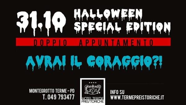 31 ottobre 2017  Castello di San Pelagio · Halloween alle Terme  Preistoriche di Montegrotto c3799c13c9d2