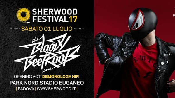 The Bloody Beetroots a Sherwood Festival