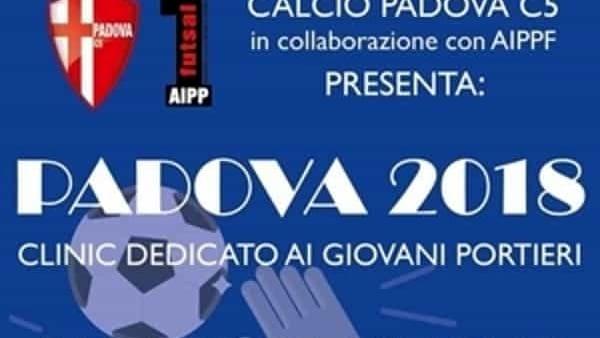 Calcio Padova C5, clinic dedicato ai giovani portieri al Vertigo Sport Center