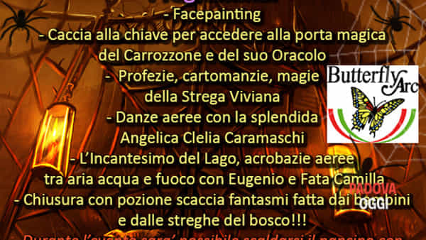"""""""Halloween al Bosco delle Fate"""" a Montegrotto Terme"""