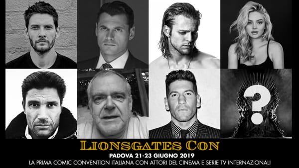 Lionsgates Con in fiera a Padova le star del Il Trono di Spade, Gotham, X-Men e molti altri