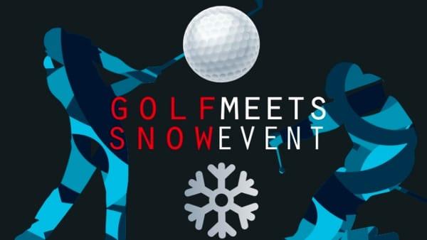"""""""Golf meets snow"""" insieme a tanta solidarietà"""