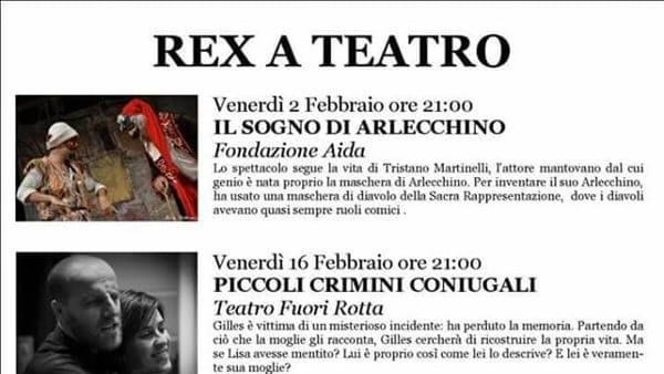 REX A TEATRO 2018-2