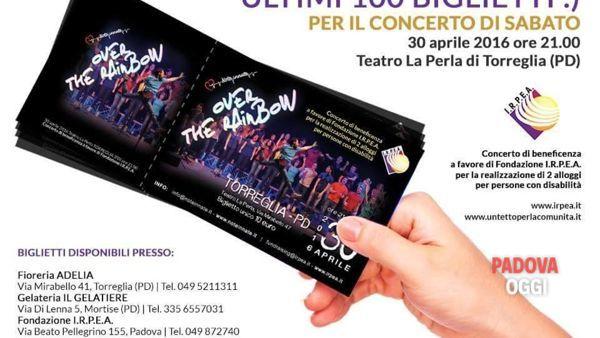 Note Innate in concerto per Fondazione I.R.P.E.A. a Torreglia