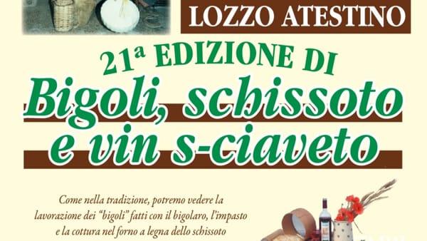 """""""Bigoli, schissoto e vin s-ciaveto"""" a Lozzo"""