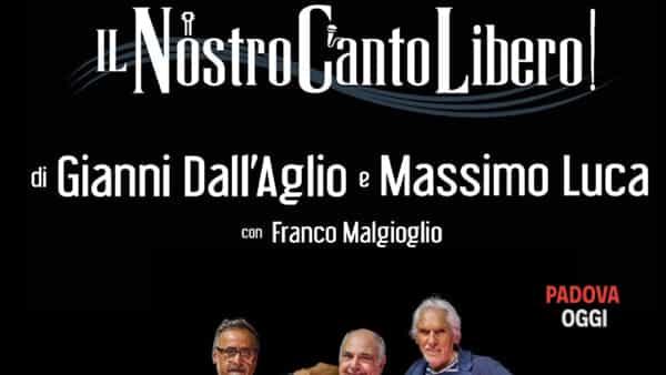 """""""Il nostro canto libero"""", concerto tributo a Lucio Battisti a Campodarsego"""