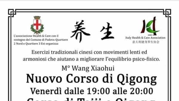 Corsi di Qigong e Taiji Quan a Padova