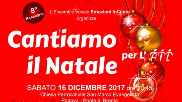 """Rassegna corale """"Cantiamo il Natale 2017"""" concerto a favore dell'Ail alla Chiesa San Marco Evangelista"""