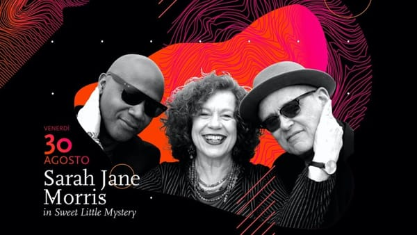 "Jazz by the pool, Sarah Jane Morris ""Sweet little mystery"" all'hotel Terme Preistoriche"