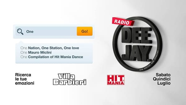 Hit Mania Dance Compilation Radio Deejay • Villa Barbieri-2
