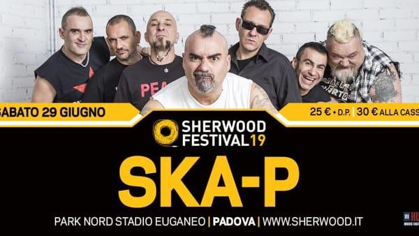 SKA-P live allo Sherwood festival
