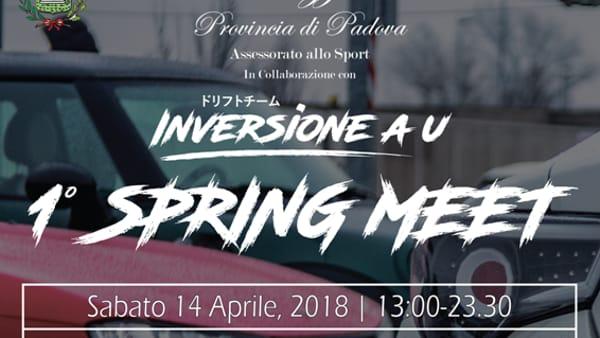 """""""1° Spring meet"""" sfilata di auto storiche da rally a Selvazzano"""