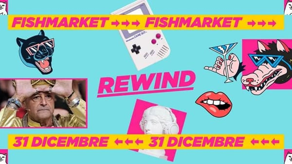 """""""Rewind"""", Capodanno al Fish club"""