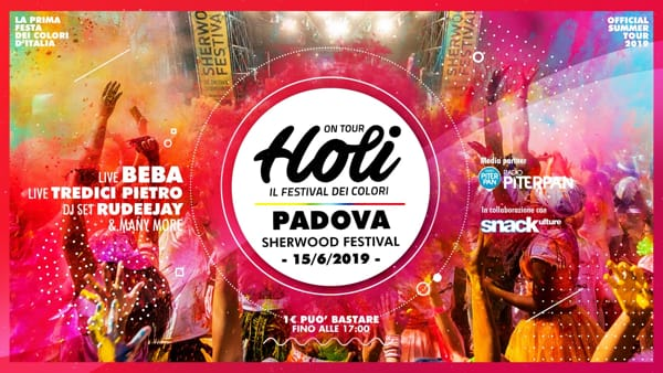 Holi festival a Sherwood