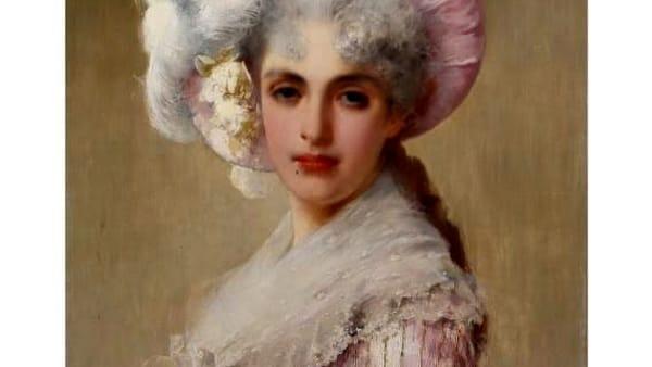 dama in rosa