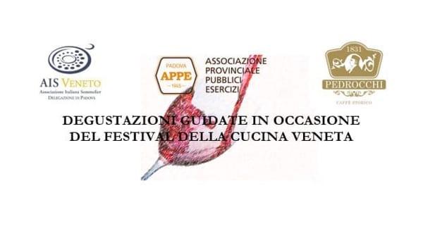 Degustazioni guidate al festival della cucina veneta a Villa Obizzi