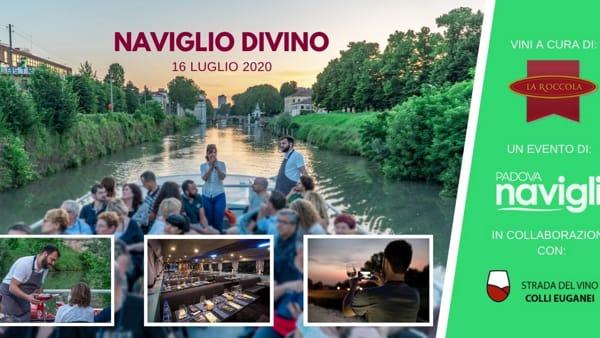 """""""Naviglio DiVino"""", degustazione in navigazione notturna da Padova a Stra con l'azienda agricola """"La Roccola"""""""