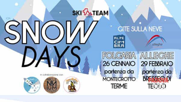 """""""Snow Days"""", gita ad Alleghe da Bresseo di Teolo"""