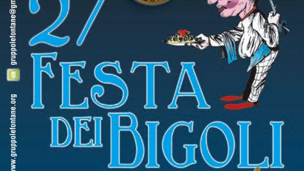27esima Festa dei Bigoli a Carbonara di Rovolon
