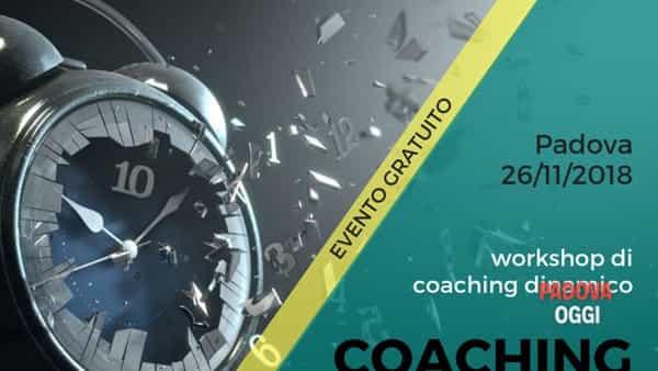 """""""Coaching Time - Allena il tuo tempo"""", workshop di coaching dinamico a Padova"""