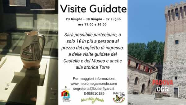 Visite guidate al castello di San Martino della Vaneza