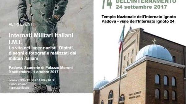 74esima anniversario dell'Internamento, cerimonia di commemorazione a Padova