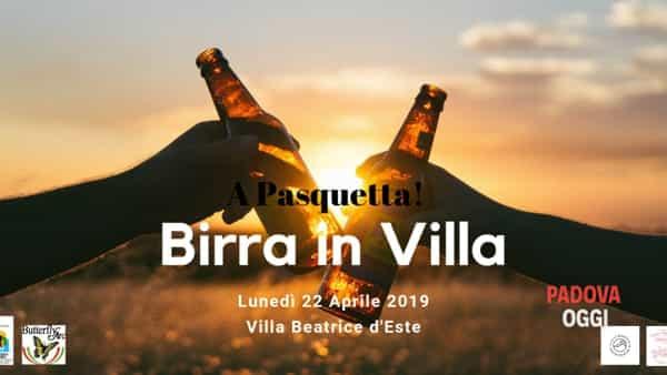 Birra a Pasquetta a Villa Beatrice d'Este