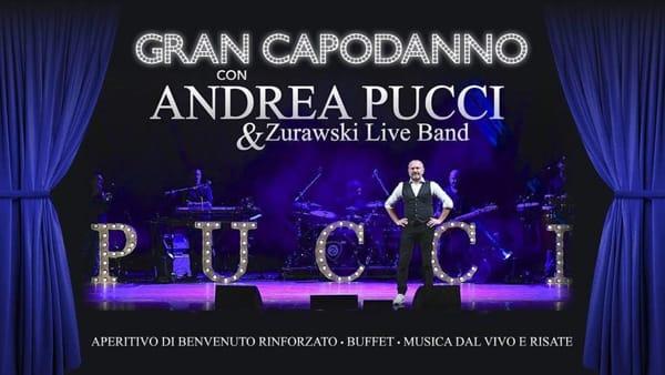 Gran Capodanno con Andrea Pucci & Zurawski live band al Geox