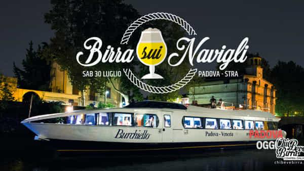 """""""Birra sui Navigli"""" navigazione con il battello Burchiello"""