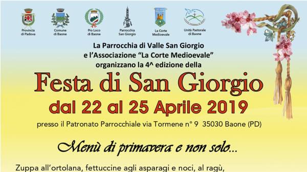 Festa a Valle San Giorgio