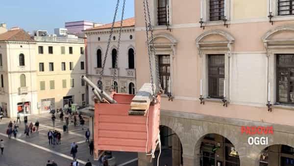 Lavori a Palazzo Moroni
