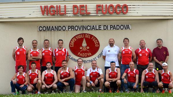 gruppo sportivo Pagnin 2 vigili del fuoco padova-2