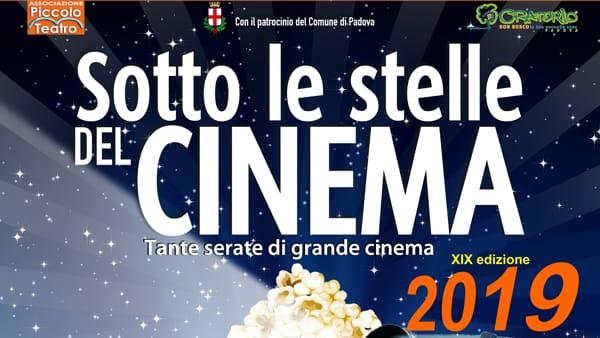 Sotto le stelle del cinema 2019, il cinema all'aperto del Piccolo teatro