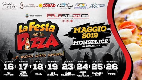 Festa della pizza al PalaStuzzico di Monselice