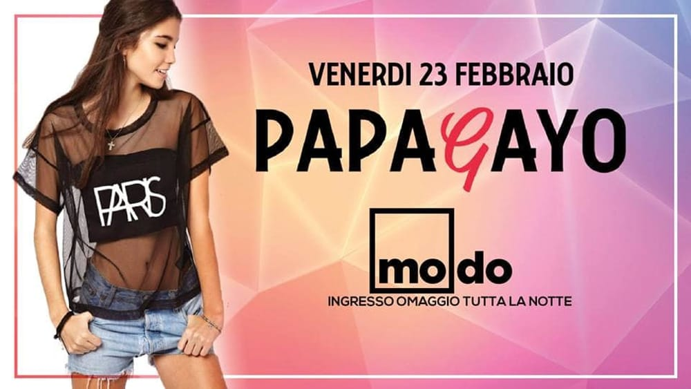 Papagayo - Modo - Free Entry All Night Long-2