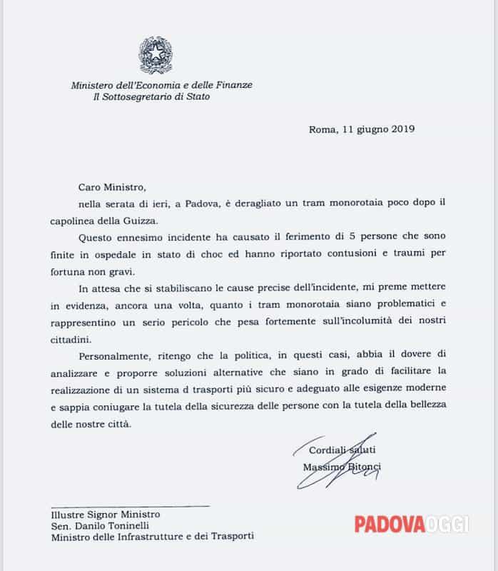 Tram lettera Bitonci Toninelli-2