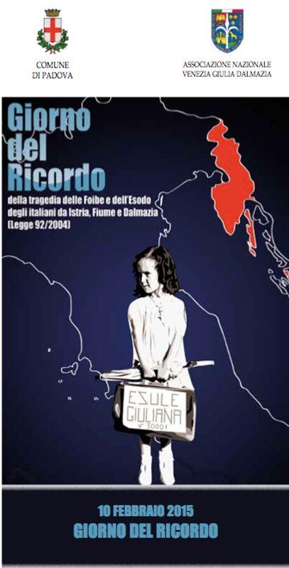 Giorno del ricordo a Padova
