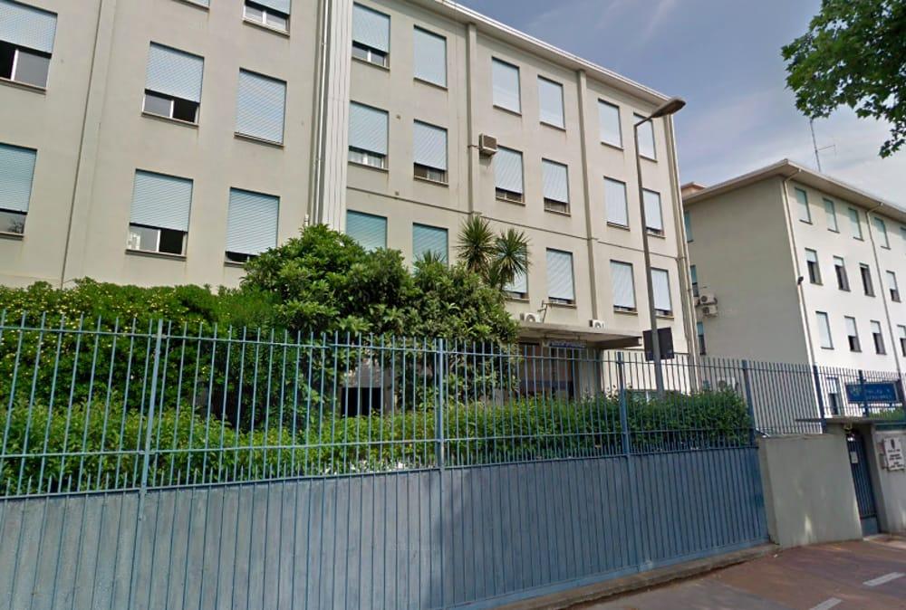 La sede del compartimento della polizia stradale di Padova