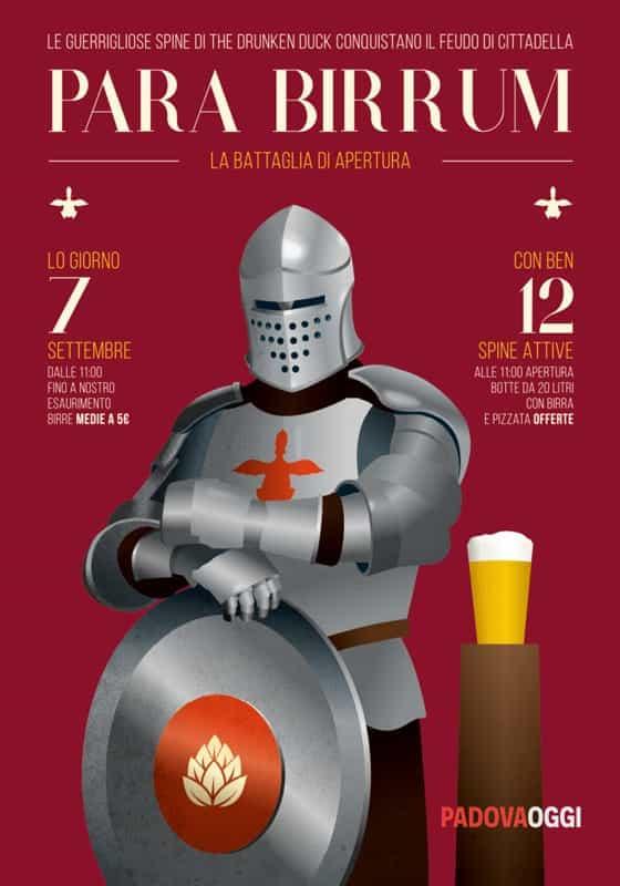 Birre Medie Calendario.A Cittadella Inaugura The Drunken Duck Il Birretto Il 7