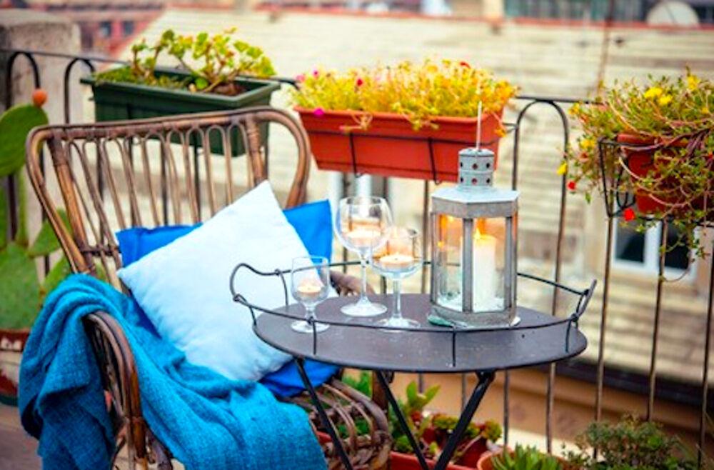 Idee per arredare il balcone in autunno